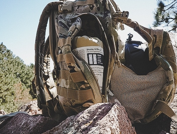 Side Compartment With Recon Sleeping Pad 5 11 Rush72 Tactical Backpack Review