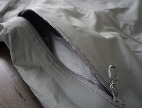 Side Hand Pocket Unzipped Mens Beyond Clothing K6 Arx Rain Jacket