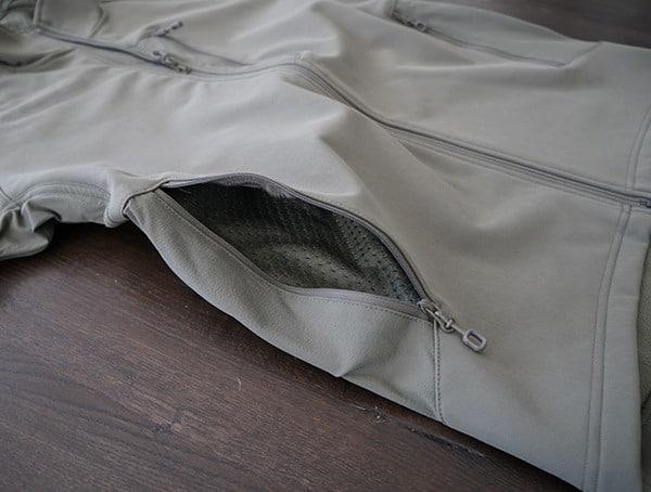 Side Hand Pockets Beyond Clothing Testa Softshell Jacket For Men