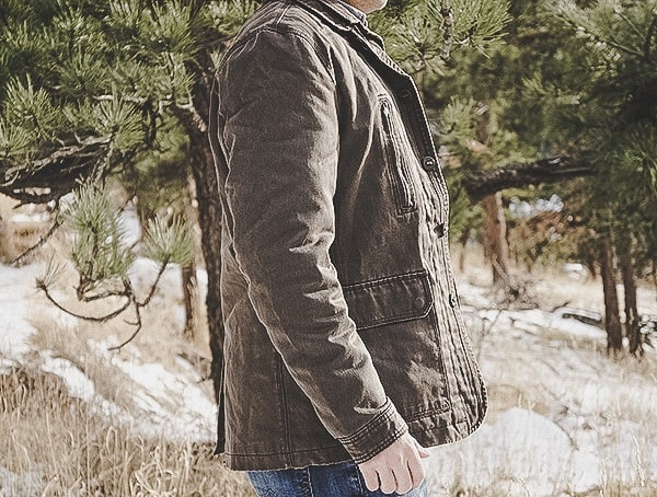 Side Mens Dakota Grizzly Tripp Coat Review