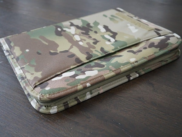 Side Mercury Tactical Zippered Padfolio