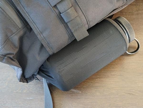 Side Mesh Water Bottle Pocket Mission Workshop The Rhake Backpack