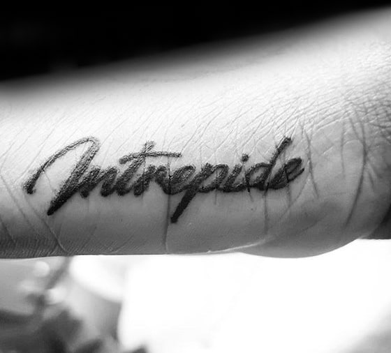 Side Of Hand Latin Male Tattoos