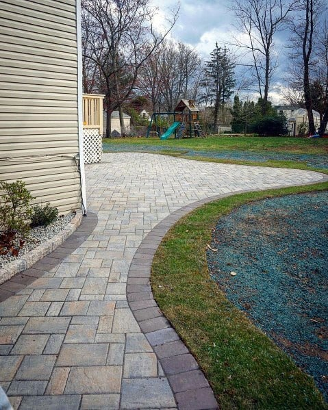Side Of House Good Ideas For Paver Walkway
