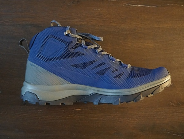 Side One Salomon Outline Mid Gtx Mens Navy Shoes