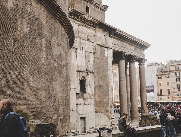 Side Pantheon Italy Rome