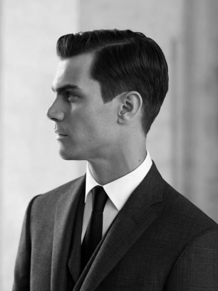 Side Part Classy Hairstyles For Males