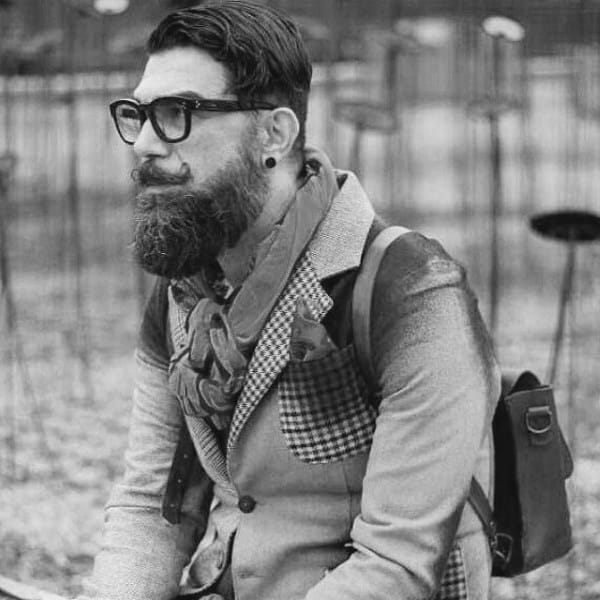 Side Part Dapper Hipster Haircuts For Men