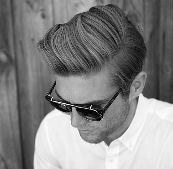 Side Part Hairstyles For Medium Hair Mens