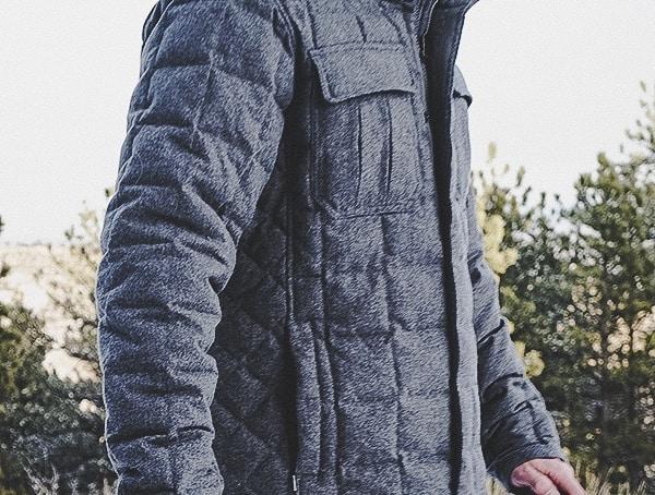 Side Review Nau Clothing Utility Mens Wool Down Jacket
