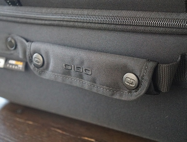Side Snap Button Suitcase Pull Handle Gio Alpha Convoy 522s Travel Bags