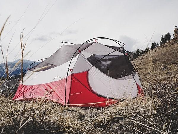Side View Field Test Msr Mutha Hubba Nx Tent