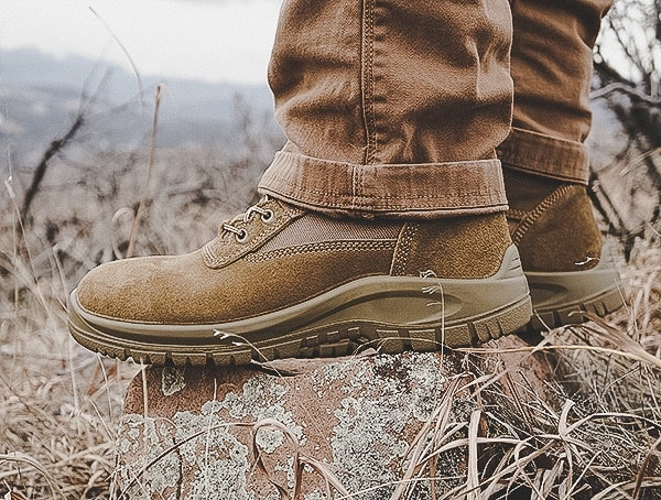 Side View Mens Od 30 Footwear Combat Boots Review A3