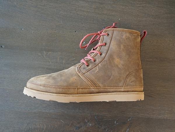 Side View Mens Ugg Waterproof Harkley Boots