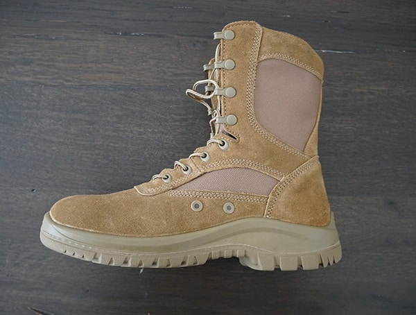 Side View Od 30 Mens Tactical Coyote A3 Combat Boots