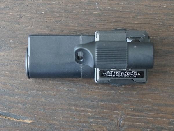Side View Zore 9mm Gun Lock