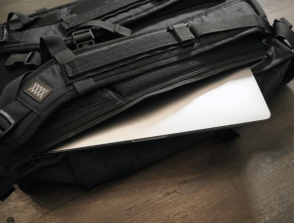 Side Waterproof Laptop Protective Sleeve Mission Workshop The Rhake Backpack