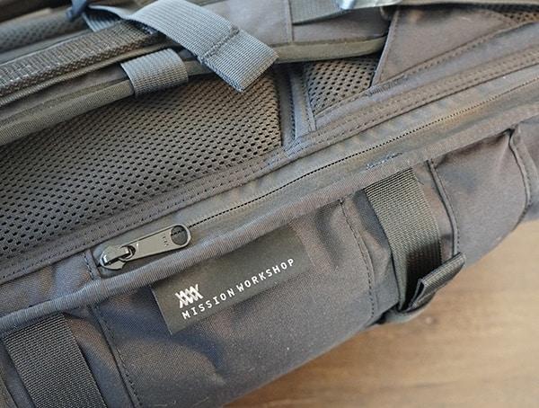 Side Zip Mission Workshop The Rhake Backpack