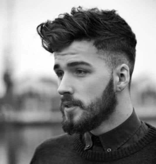 Brilliant 50 Shaved Sides Hairstyles For Men Throwback Haircuts Short Hairstyles Gunalazisus