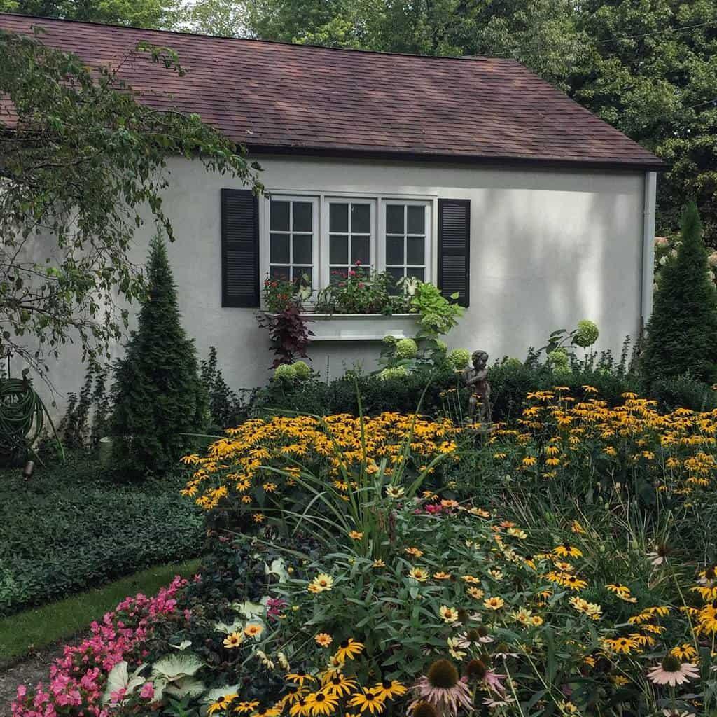 sideyard shade garden ideas jeaninemanser