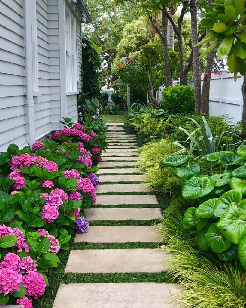 sideyard shade garden ideas kirstensachlandscape