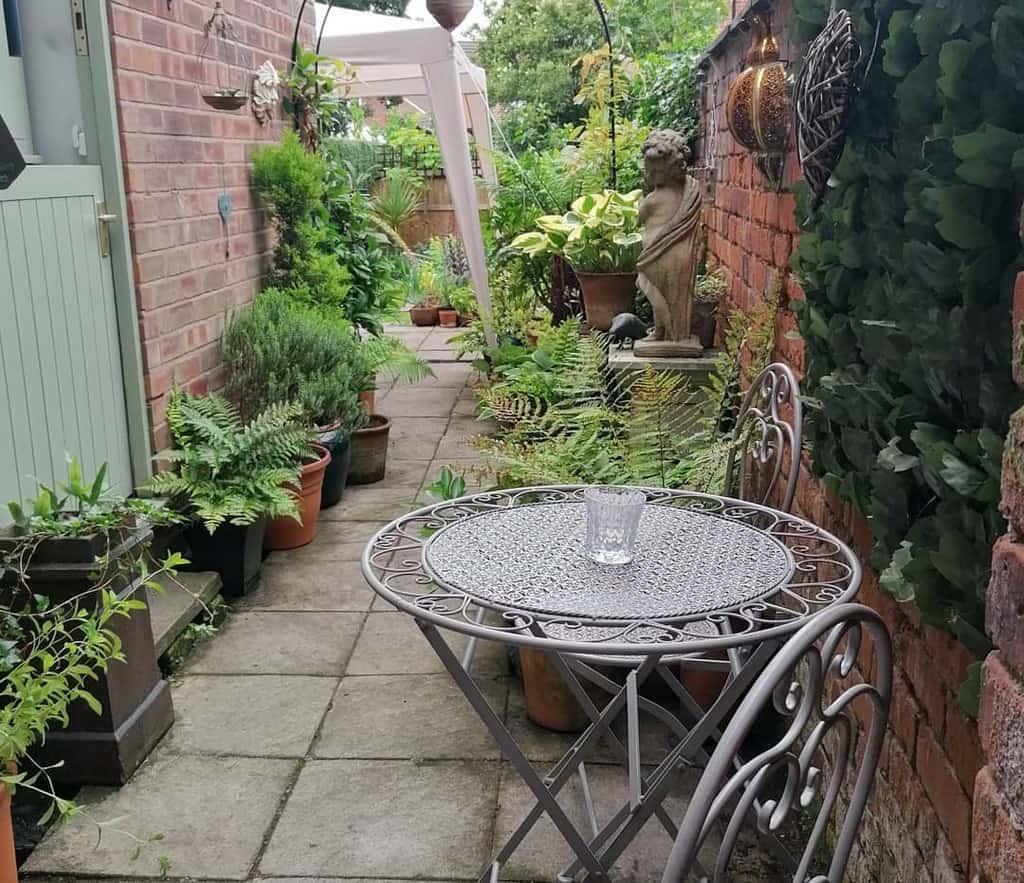 sideyard shade garden ideas littlevictorianhousecheshire