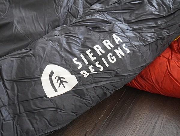 Sierra Designs Brand Side Nitro 800 20 Degree Sleeping Bag