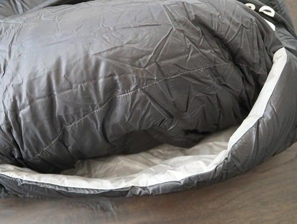 Sierra Designs Nitro 800 20 Degree Sleeping Bag Foot Ventilation