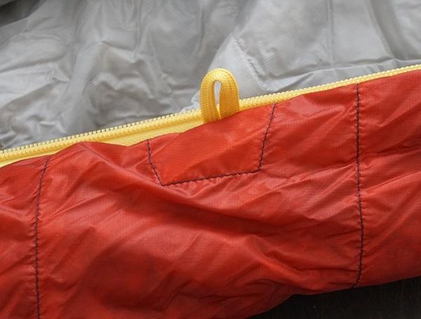 Sierra Designs Nitro 800 20 Degree Sleeping Bag Hook Loop