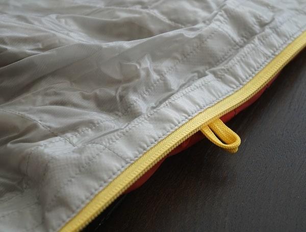 Sierra Designs Nitro 800 20 Degree Sleeping Bag Inner Zipper And Loop