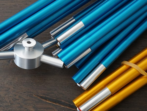 Sierra Designs Sweet Suite 3 Tent Dac Featherlite Aluminum Poles