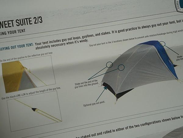 Sierra Designs Sweet Suite 3 Tent Setup Rain Fly