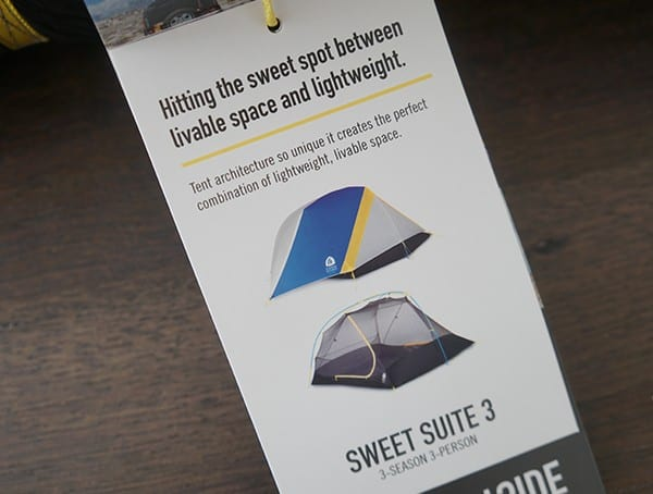 Sierra Designs Sweet Suite 3 Tents Lightweight Liveable Space