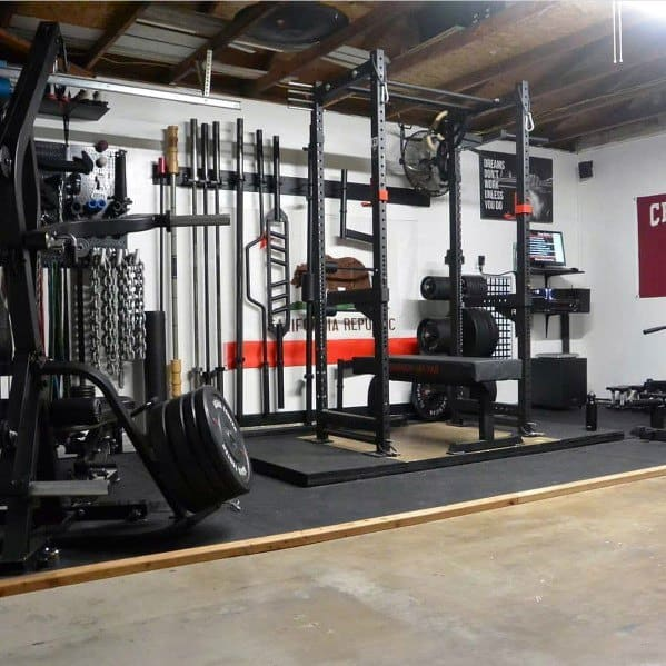 Top 75 Best Garage Gym Ideas