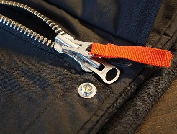Silver Zipper Center Chest Main Mens Black Topo Designs Mountain Jacket