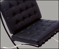 Modern Barcelona Leather Chair