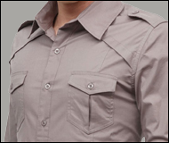 Doublju Mens Casual Shoulder Shirts