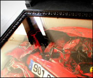 Wrecked Ferrari Coffee Table For The Living Room And Bachelor Pad