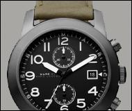 Marc Jacobs Two-Eye Chronograph Watch