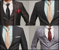 Guidelines On How To Choose The Right Ties For Men's Suits And Shirts