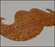 Thabto Moustache Door Mat