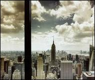 New York City Window Art