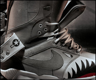 Nike Special Edition Zoom DK QS Shark Face Snowboarding Boots