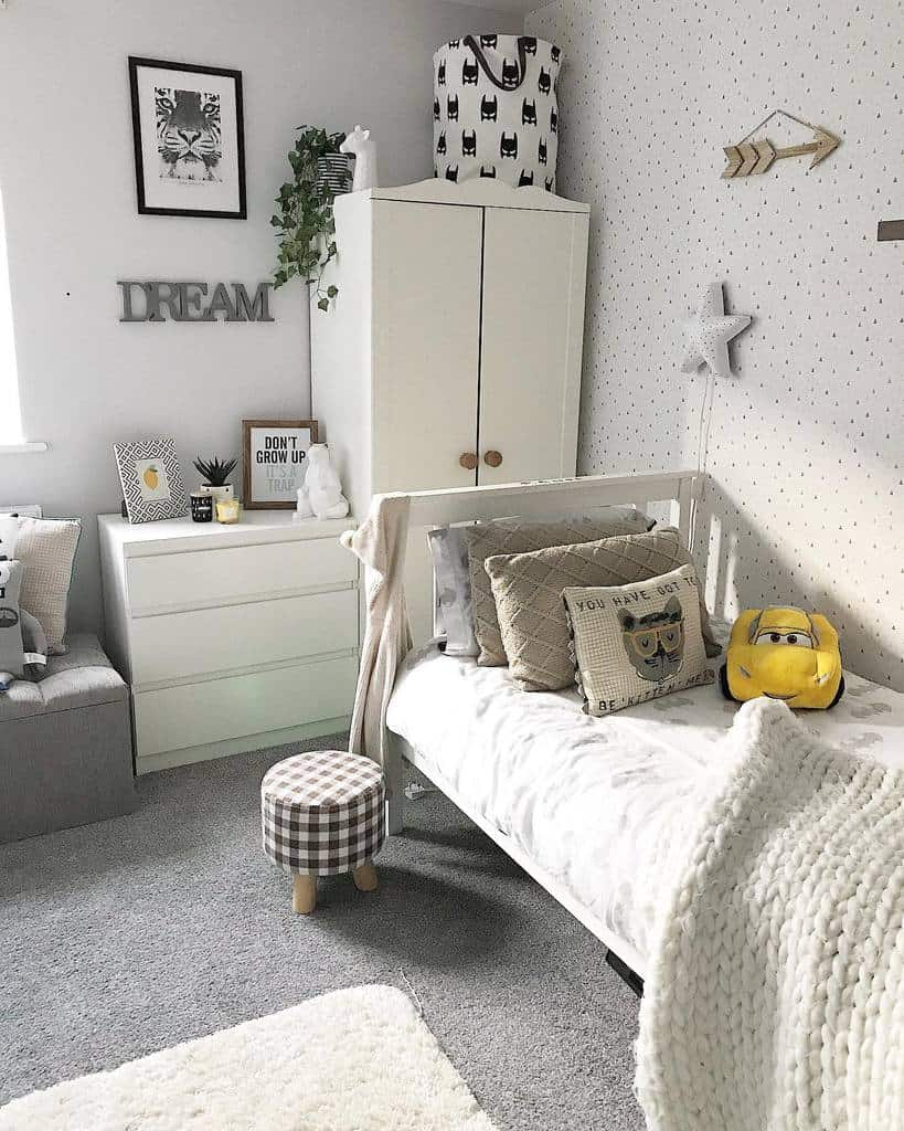 simple and light colored bedroom wallpaper ideas myhomefurnishinglife