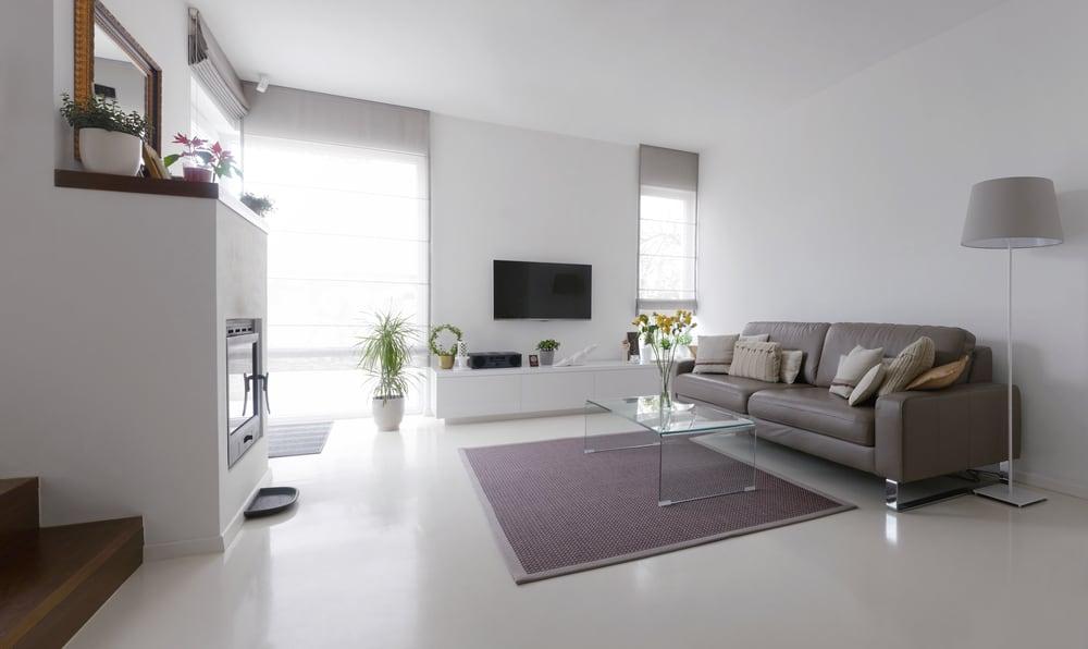 Simple Apartment Minimalist Living Room 2
