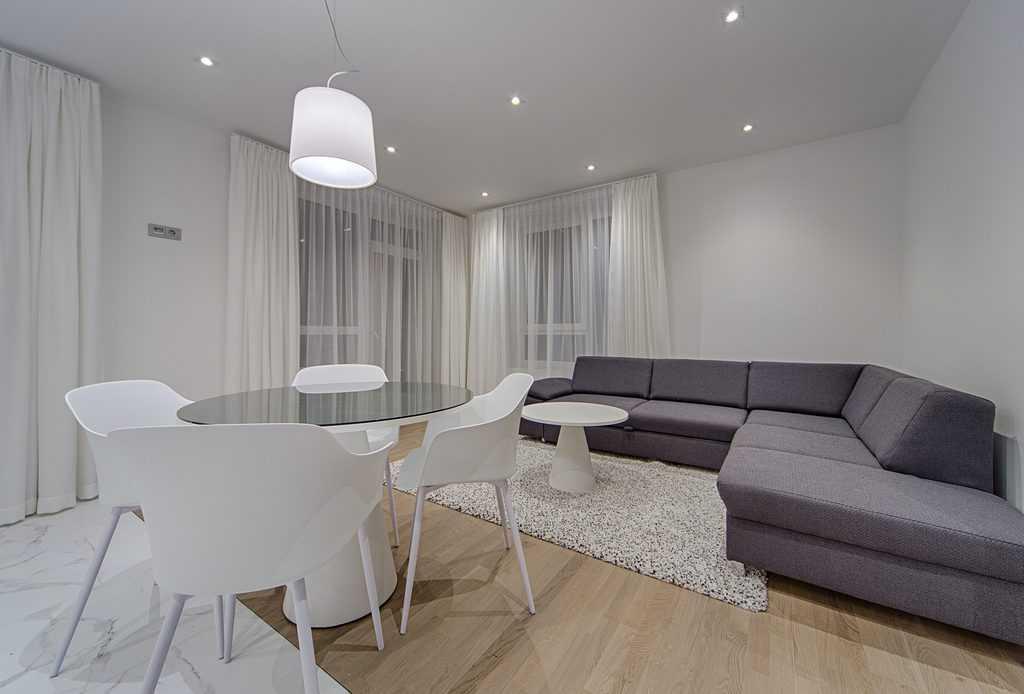 Simple Apartment Minimalist Living Room 4