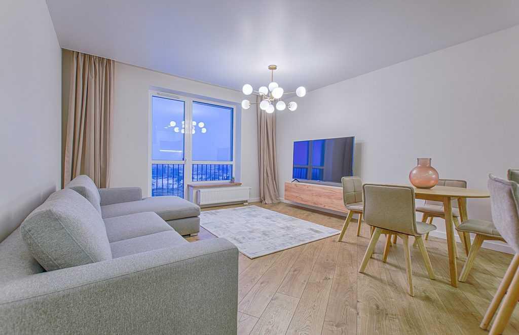 Simple Apartment Minimalist Living Room 5