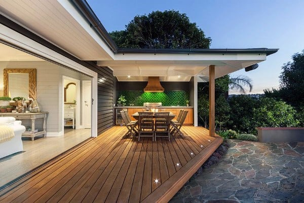 Simple Backyard Decks