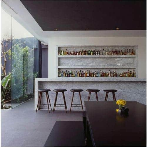 Top 40 best home bar designs and ideas for men next luxury - Bar counter designs small space minimalist ...