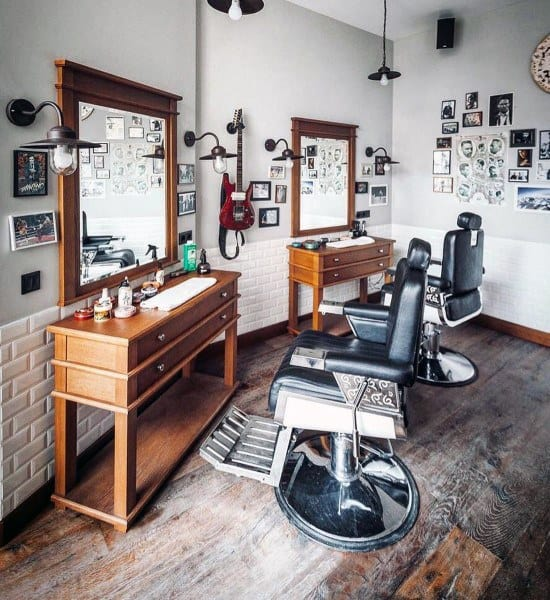 Simple Barber Shop Designs